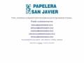 Papelera San Javier